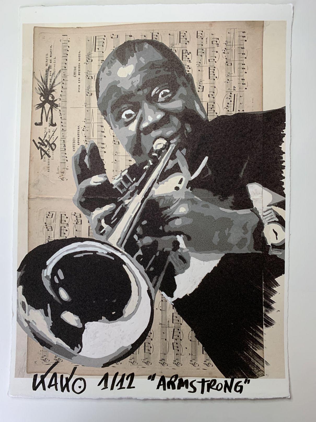 Louis Armstrong (2020) - Kako Street Art
