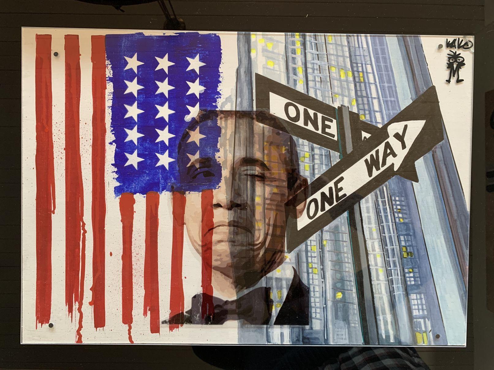 One way (2020) - Kako Street Art