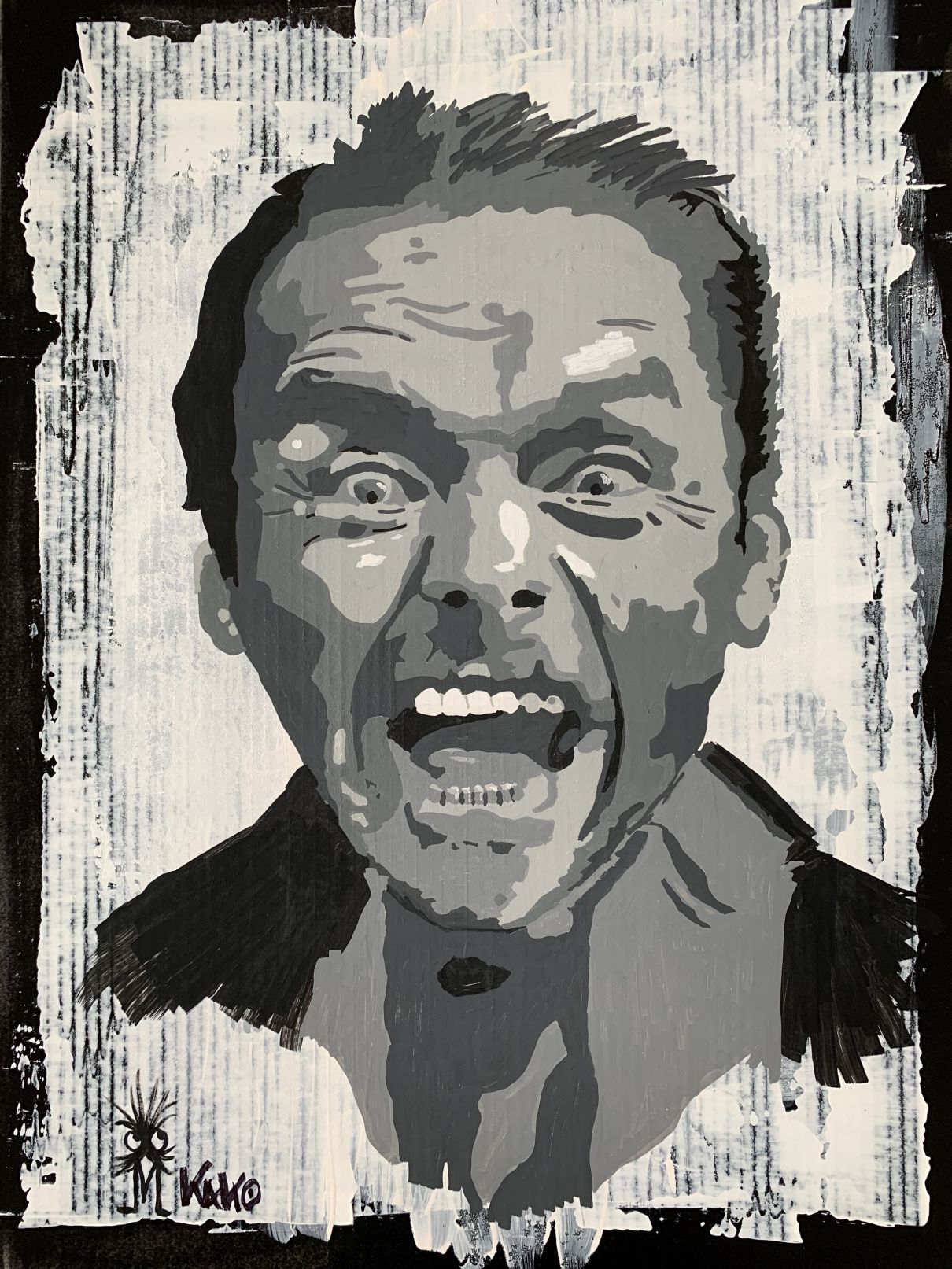 Panic (2020) - Kako Street Art