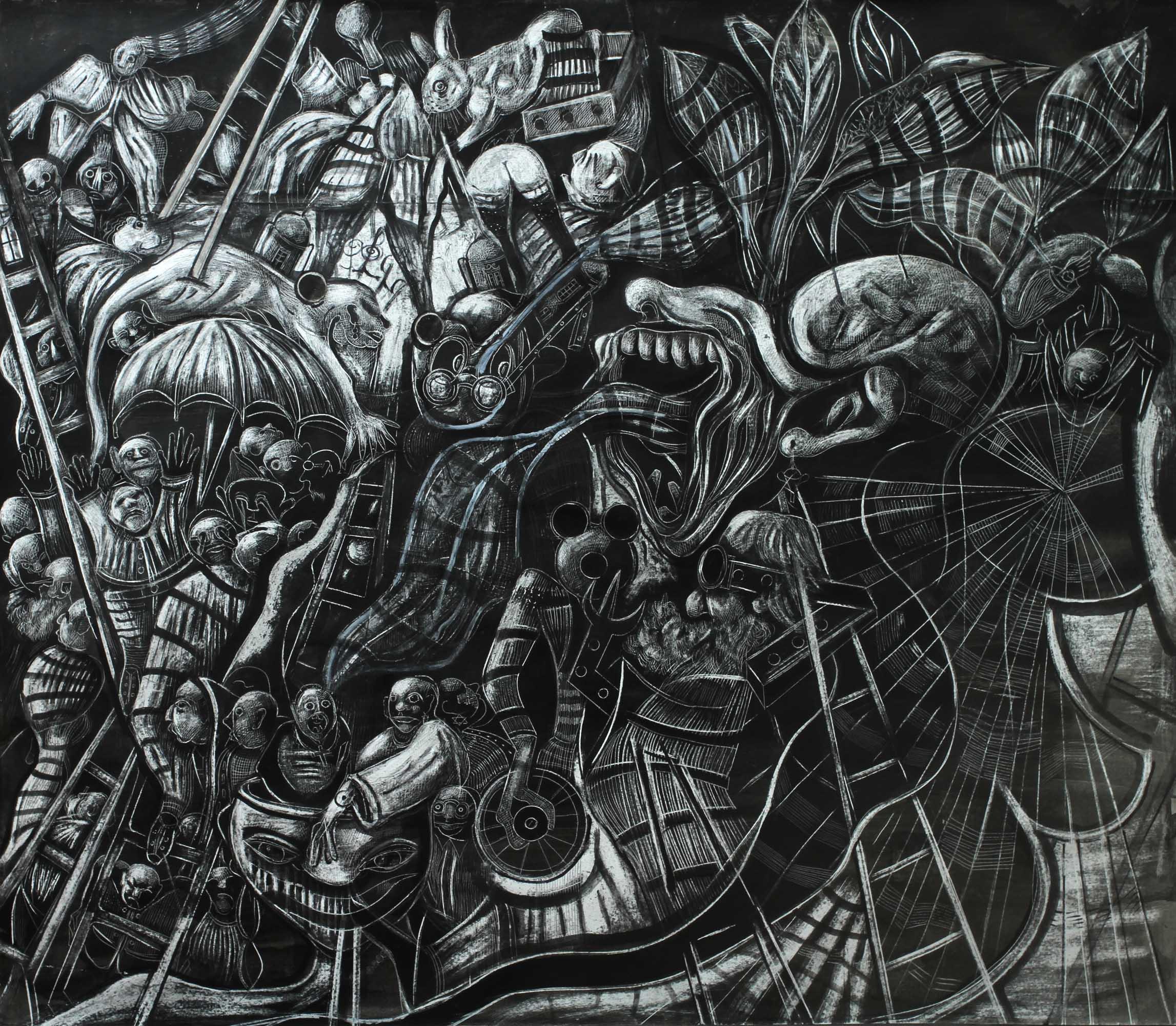 LA ESCALERA (2019) - Francisco Hernandez