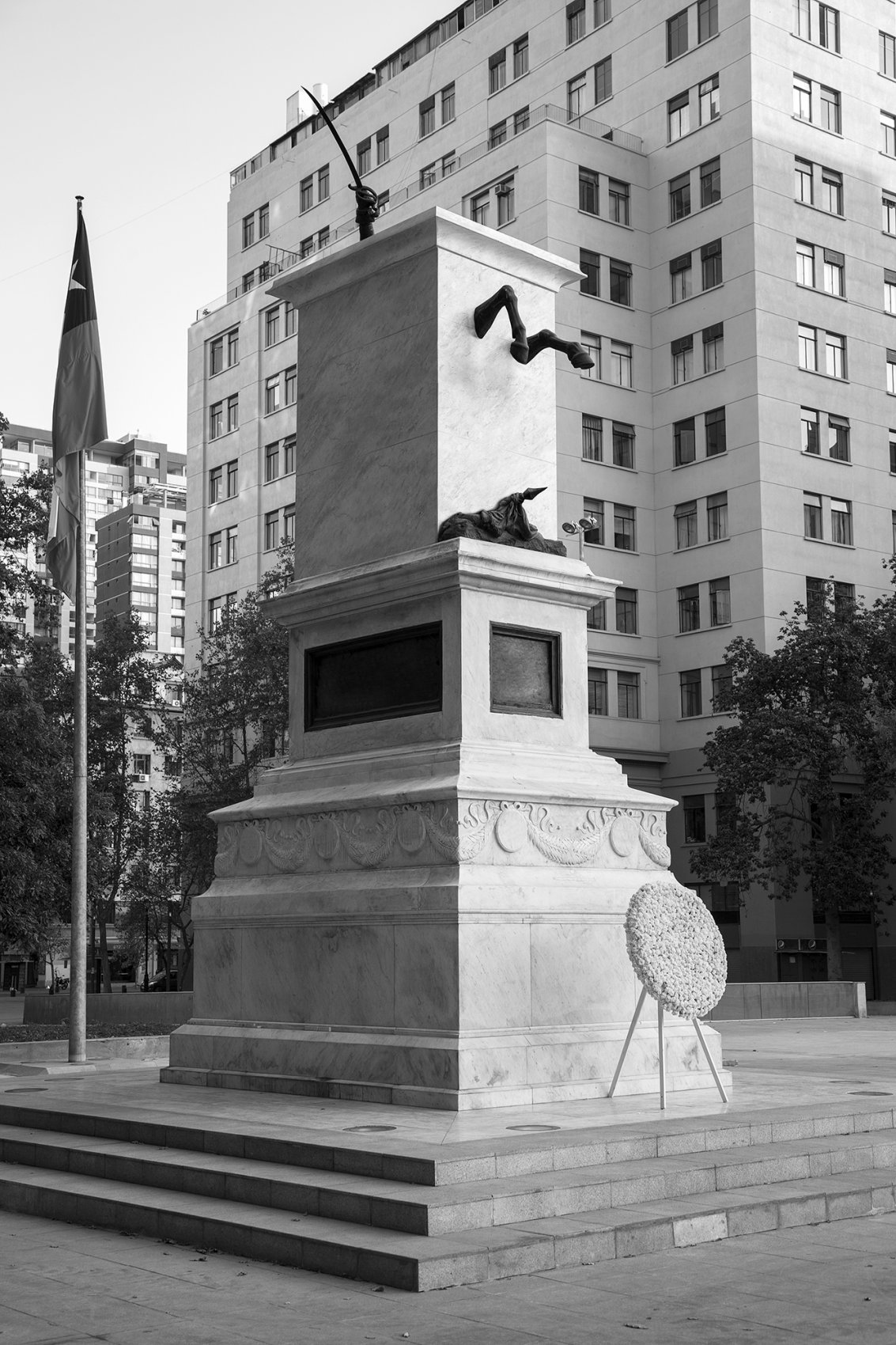 Ecuestre n°1. Serie Monumento Editado, Chile-Perú-Bolivia-Argentina (2014) - Andrés Durán Dávila