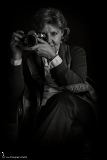 Retrato de la fotógrafa