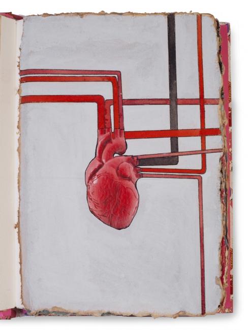 Sangre, Sudor y Lágrimas (Sangre) - Libro de artista