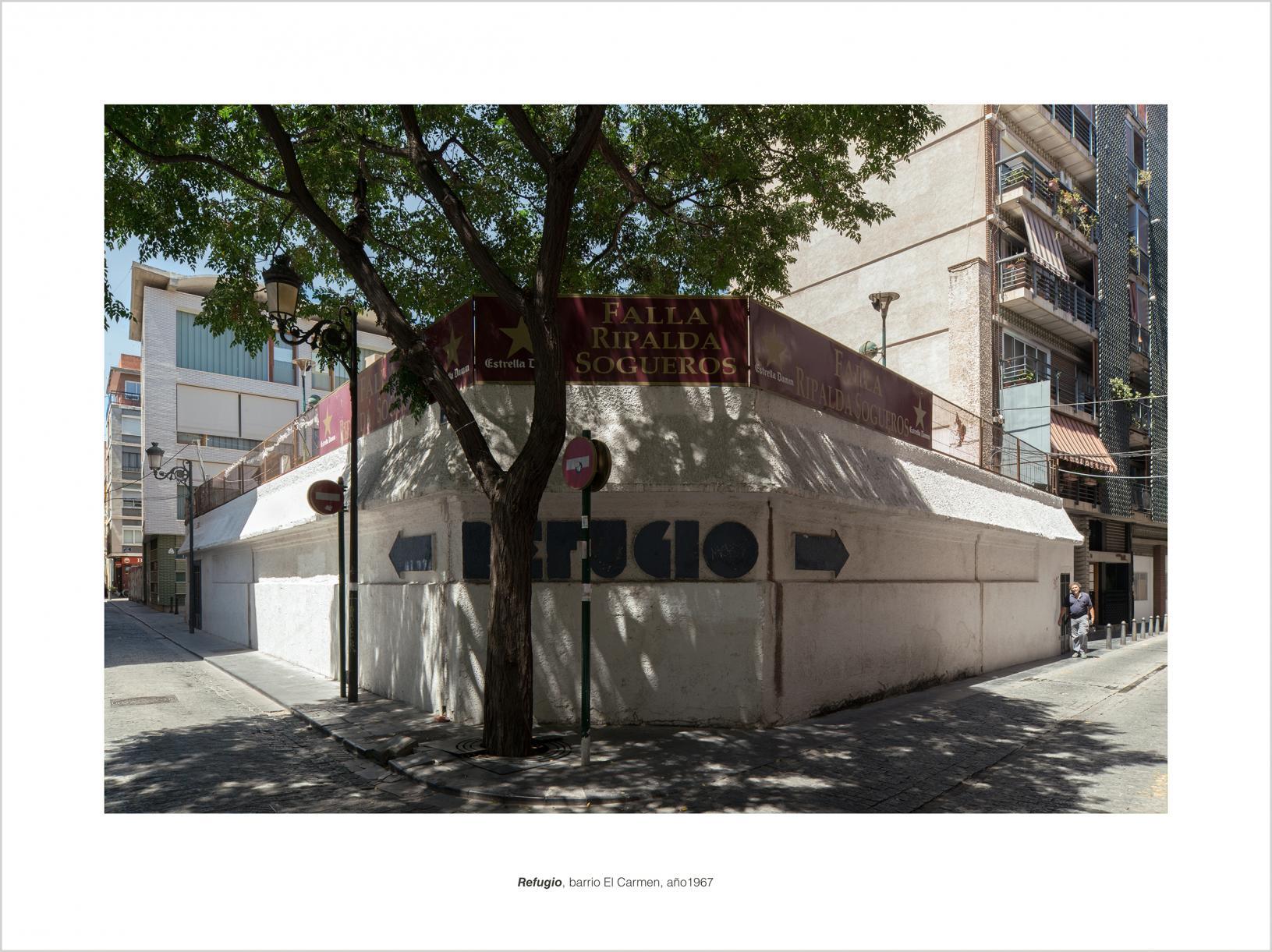 REFUGIO, barrio El Carmen, año 1967 (2015) - Alfonso Legaz
