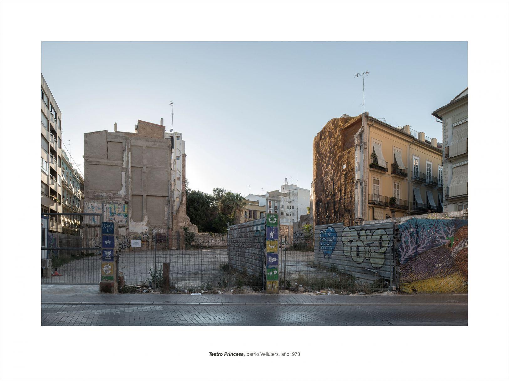 TEATRO PRINCESA, barrio Velluters, año 1973 (2015) - Alfonso Legaz