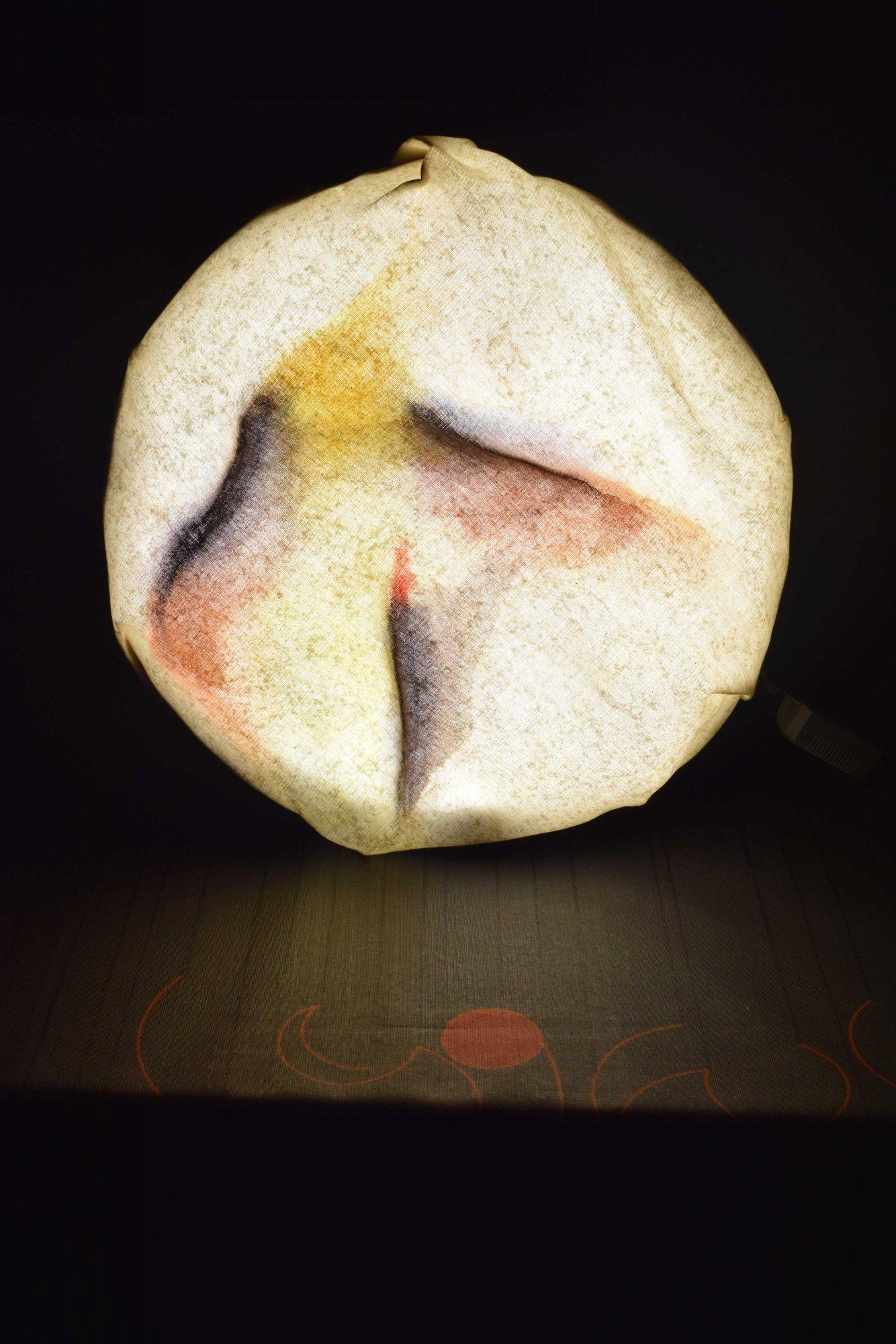 Lámpara con luz (2017) - José Luis Alvarez Vélez