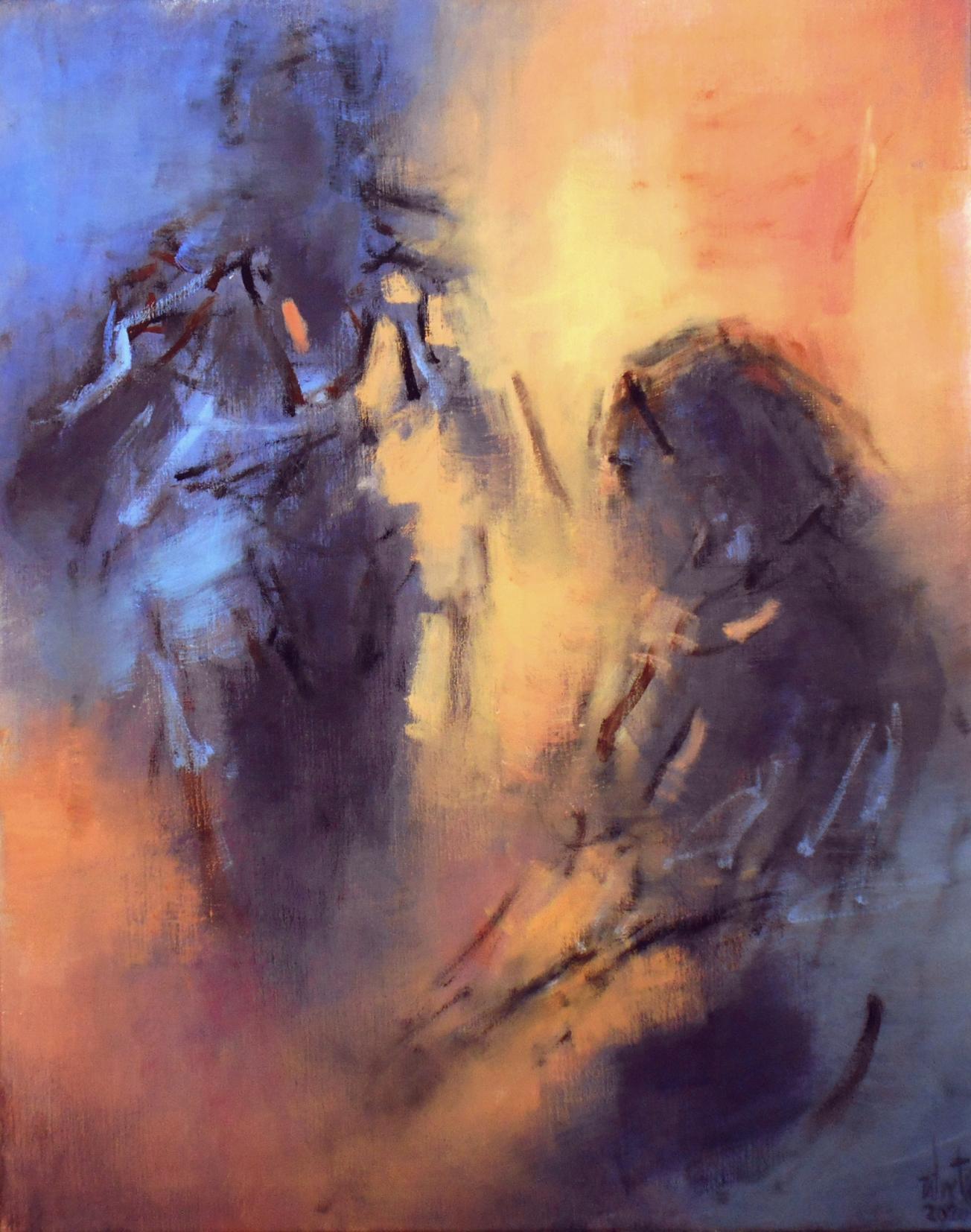 Dos figuras (2020) - Luis Zilveti