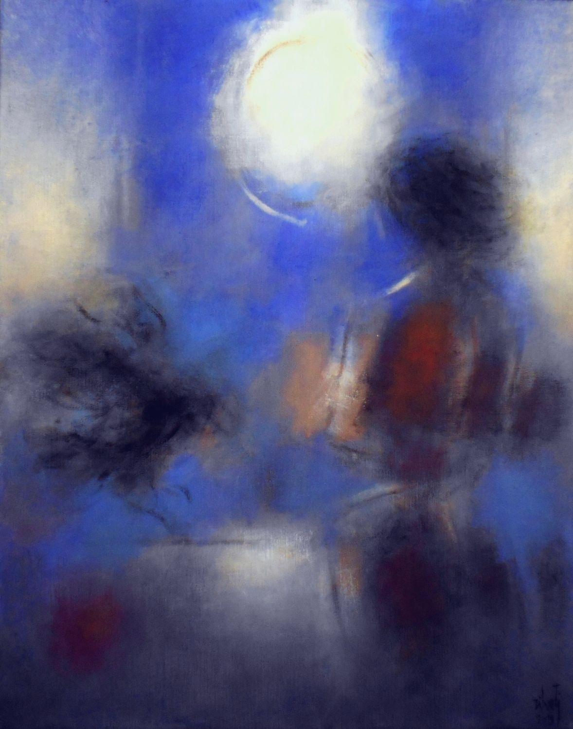 Ventana y luna (2019) - Luis Zilveti