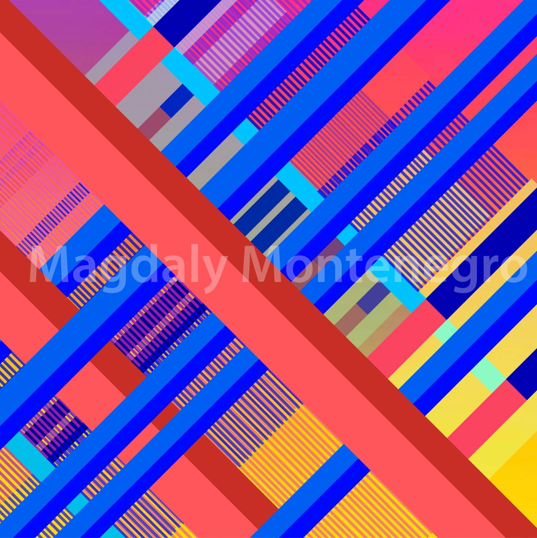 Coral Diagonals (2019) - Magdaly Montenegro