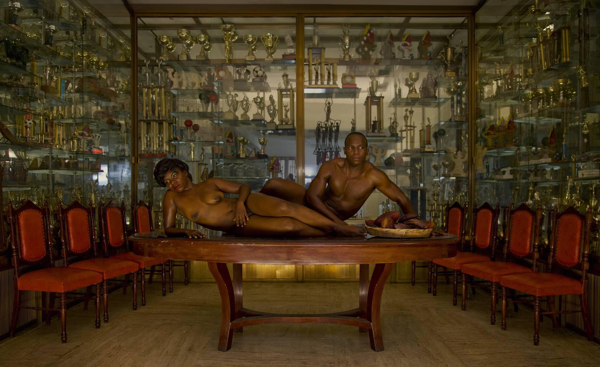 El Cacao. Serie: Ensayando la Postura Nacional. (2010) - Alexander Apóstol
