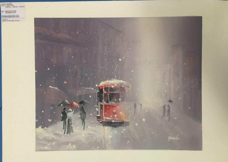 Neve a Milano (2018) - Luigi Quida
