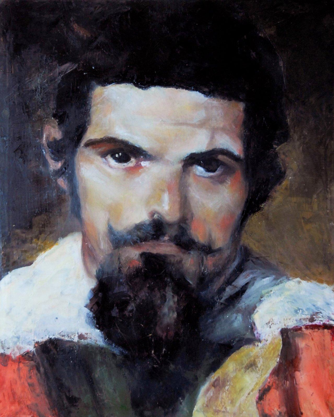 Don Sebastian de la Morra - Homenaje a Diego Velazquez (2018) - Sandra Renzi