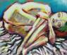 una alienígena en mi cama / 2015 / 81 x 100 cm