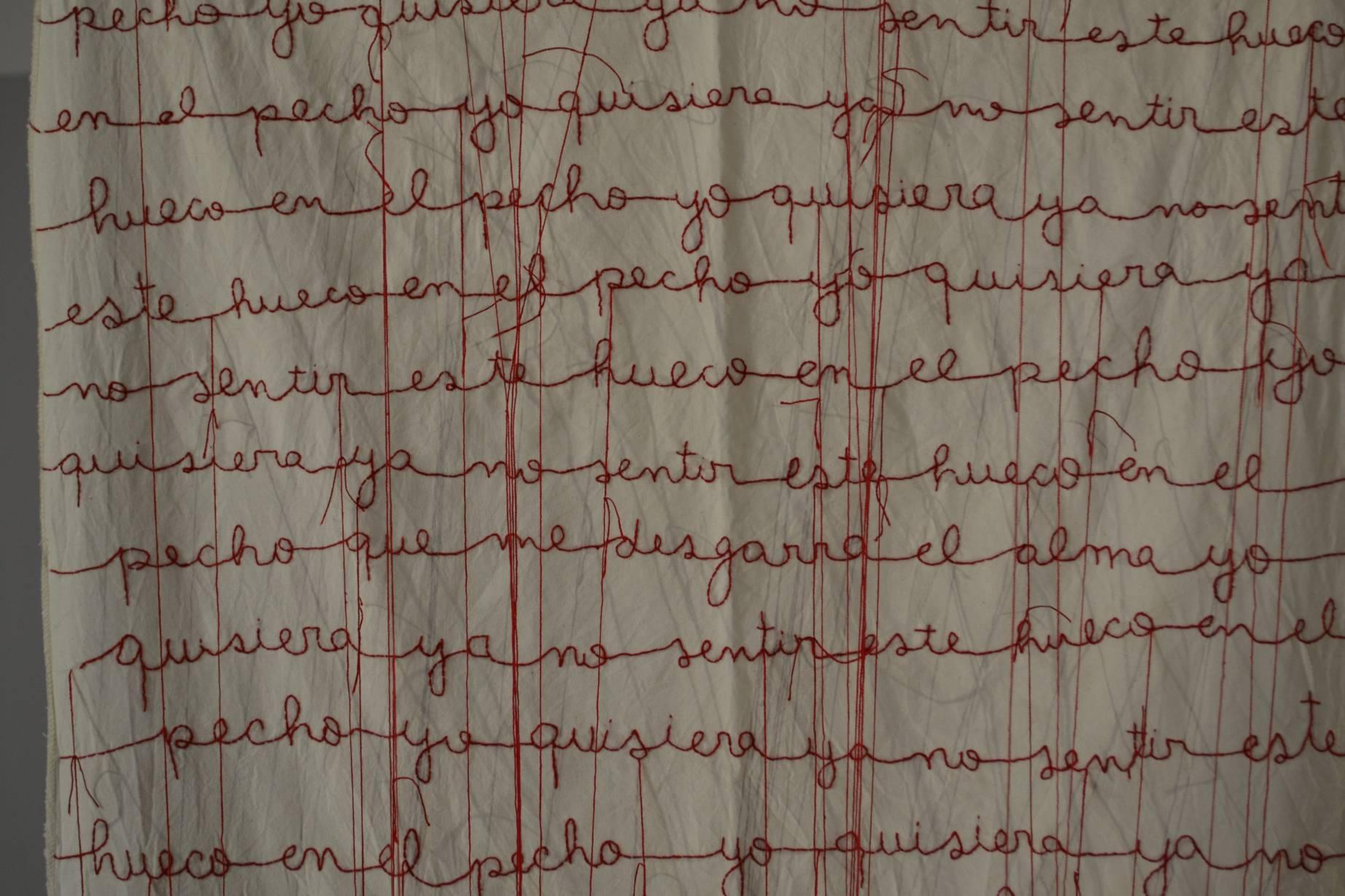 Pecho hueco o carta de amor (2016) - Pamela Suasti Balseca