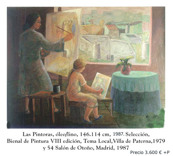 Las pintoras