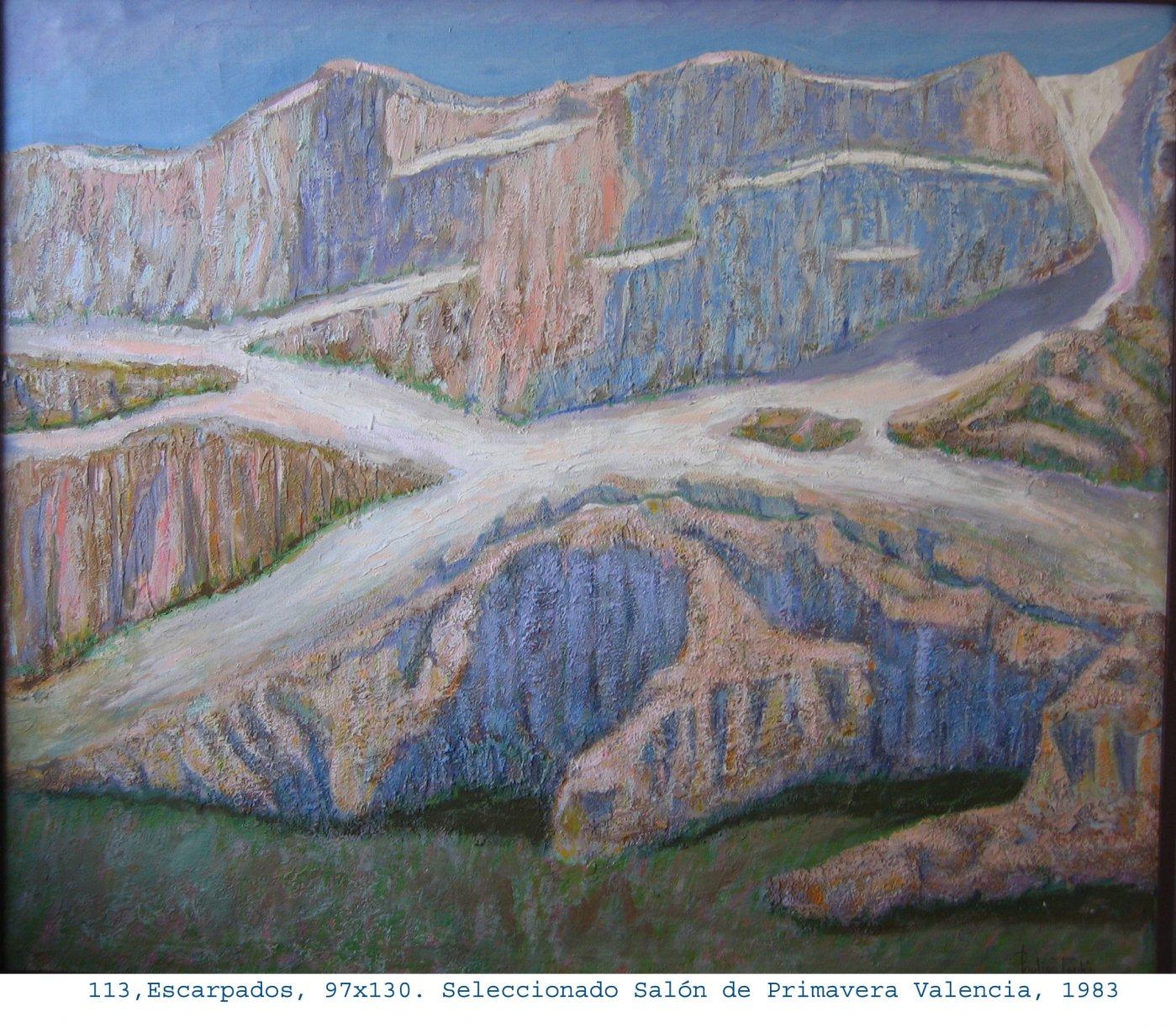 Escarpados (1980) - Paulino Lorenzo Tardón - Paulino L Tardón