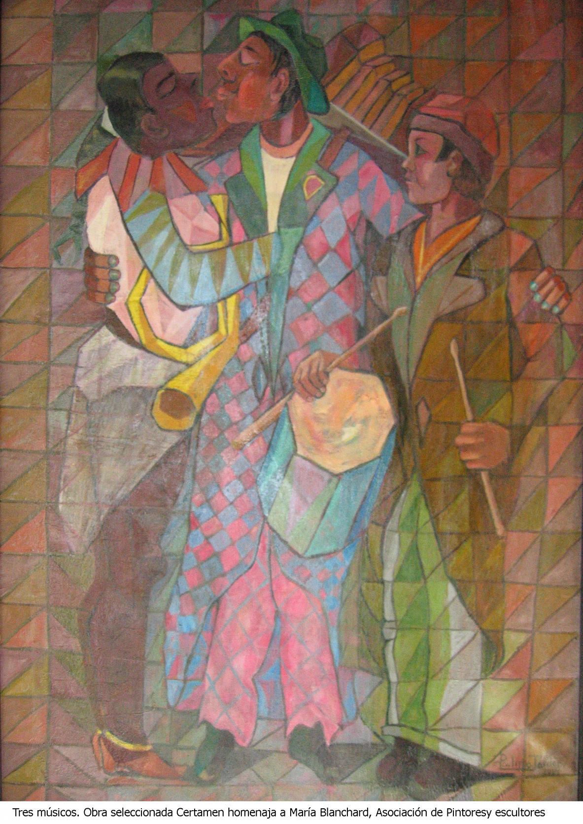 Tres músicos 2
