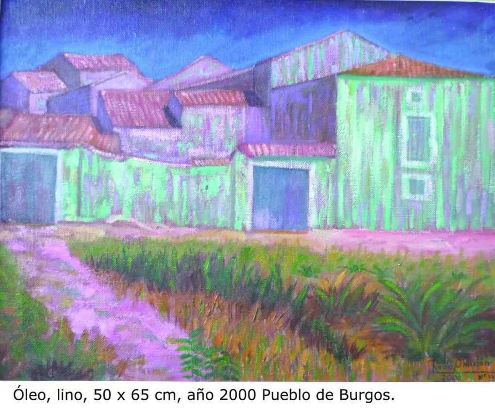 Casas de un pueblo de Burgos