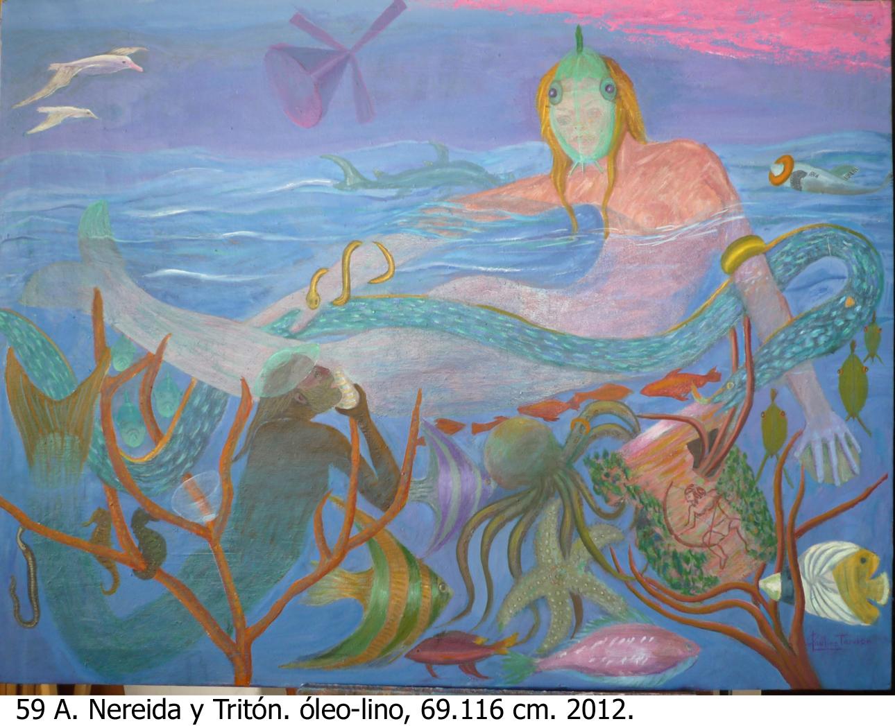Nereida y Tritón