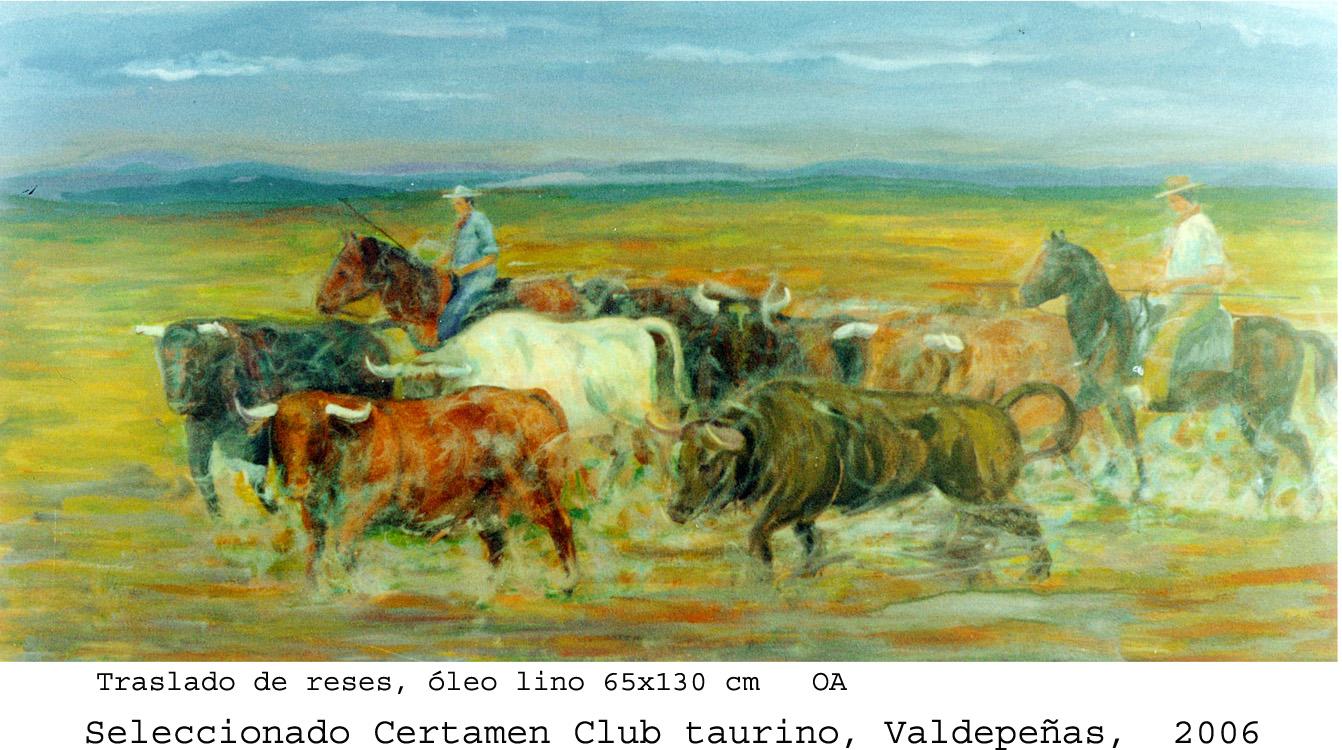 Traslado de una manada de toros (1980) - Paulino Lorenzo Tardón - Paulino L Tardón