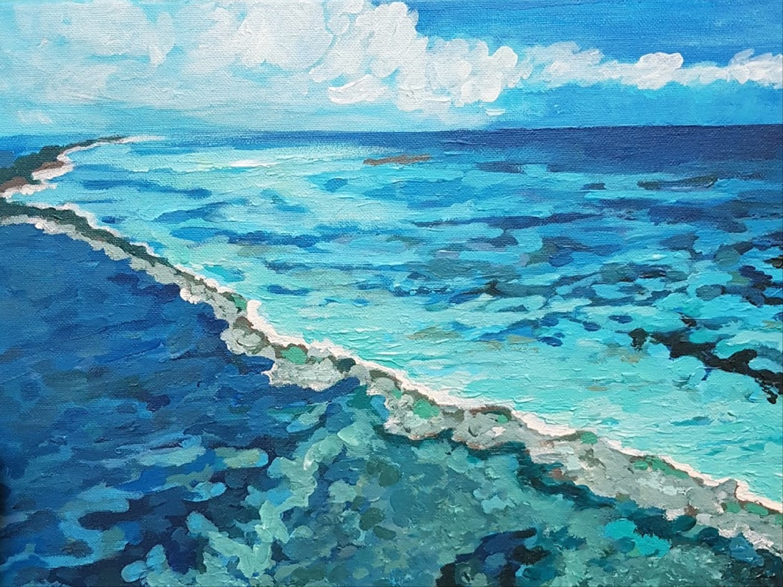 Ocean from up (2020) - Svetlana Selezneva