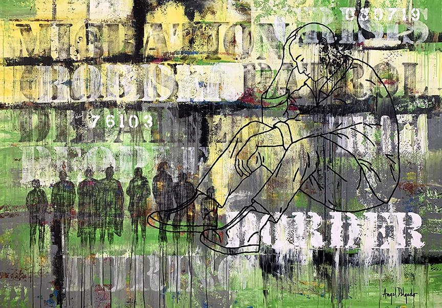Absent Speech, XXV. (2019) - Ángel Delgado