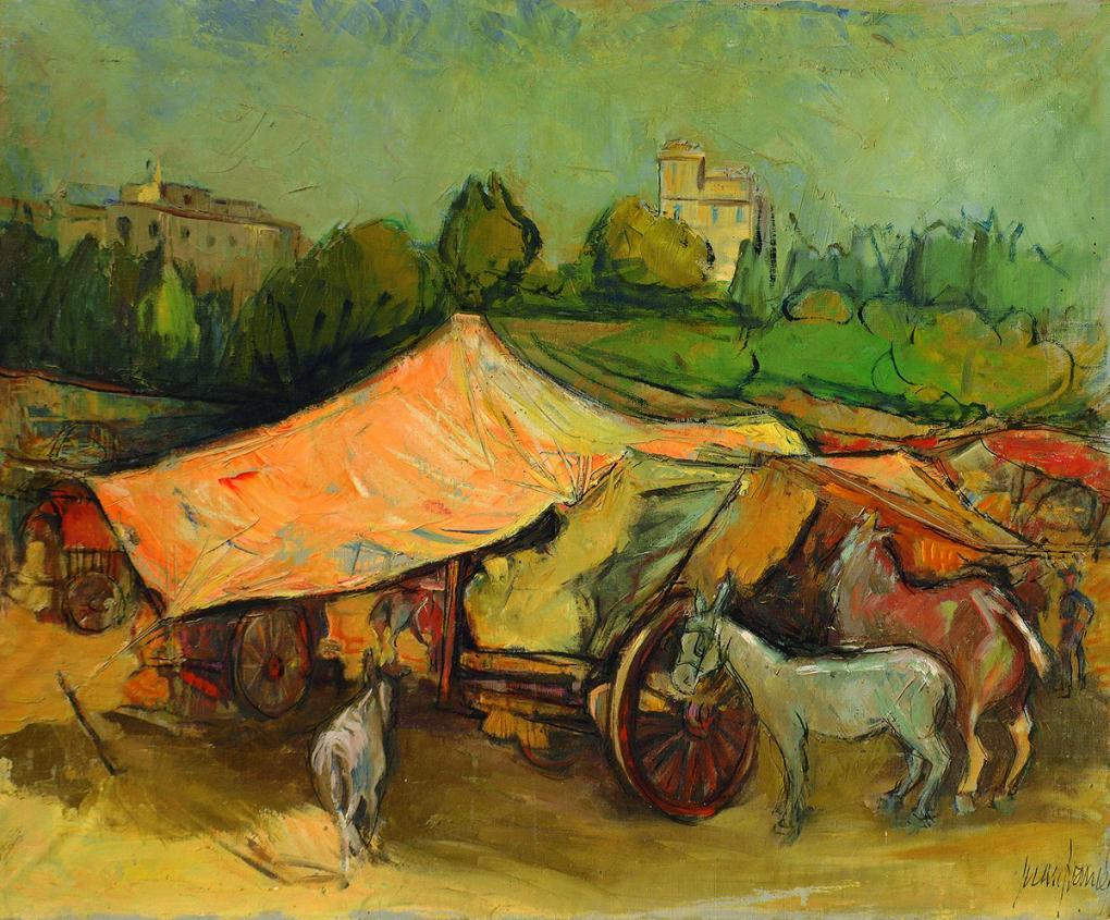 Feria de Xàtiva (1953) - Juan Francés Gandía - Juan Francés
