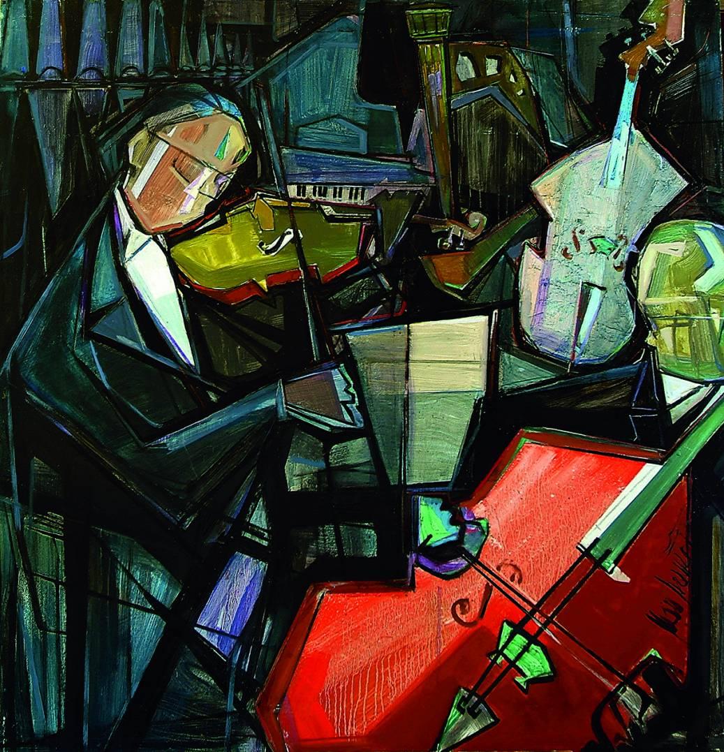 Violinista (1982) - Juan Francés Gandía - Juan Francés