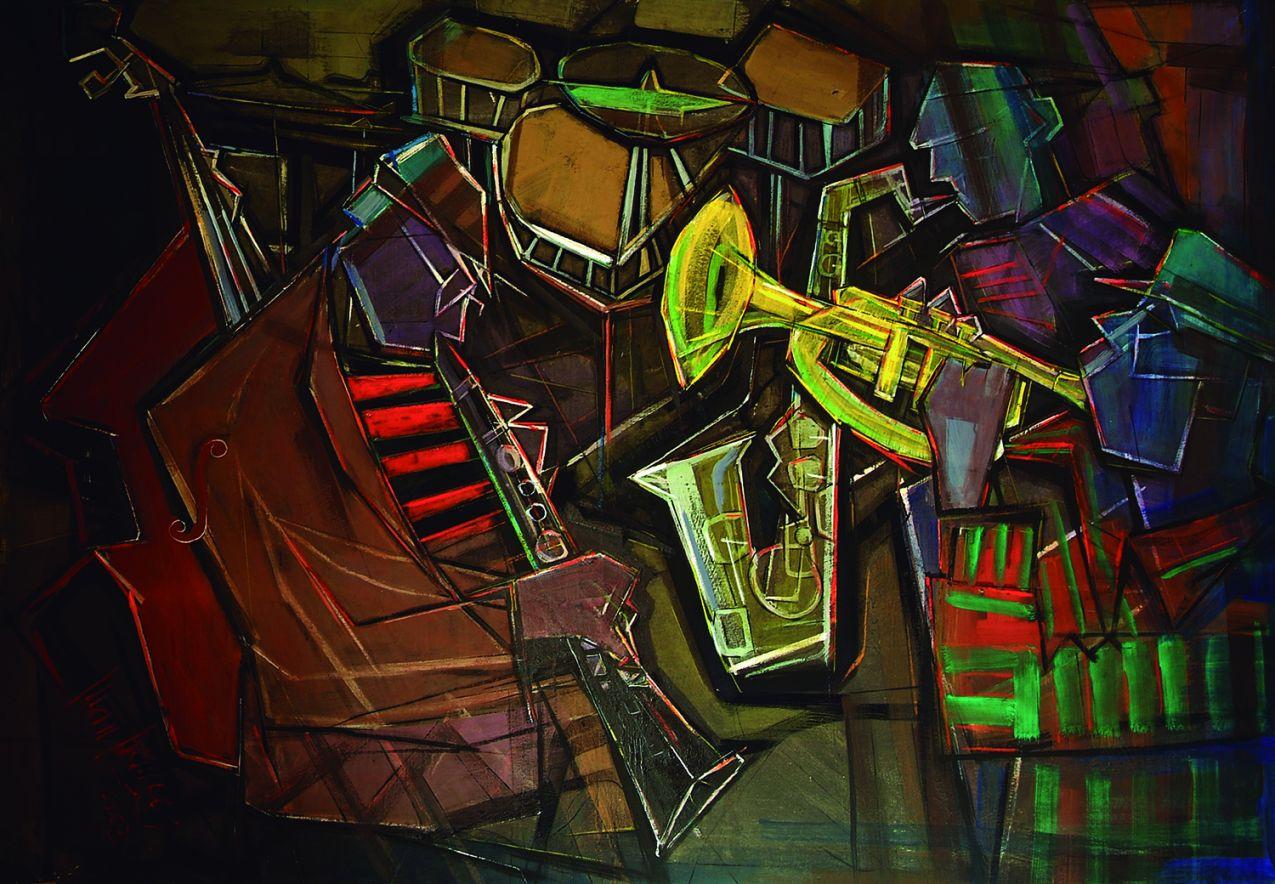 Músicos de jazz en Harlem (2002) - Juan Francés Gandía - Juan Francés