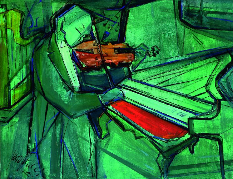 Violinista y piano (2004) - Juan Francés Gandía - Juan Francés