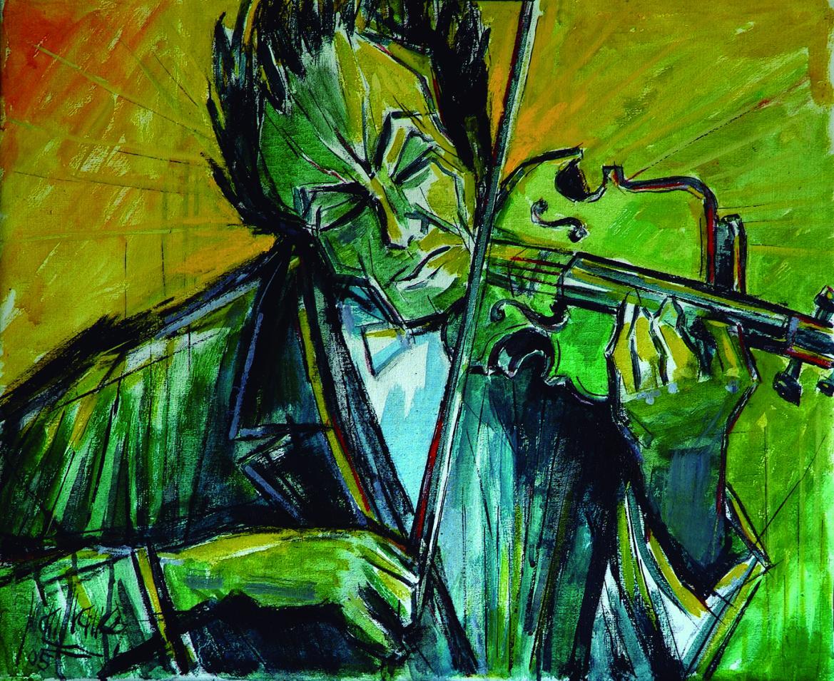 Violinista (2005) - Juan Francés Gandía - Juan Francés