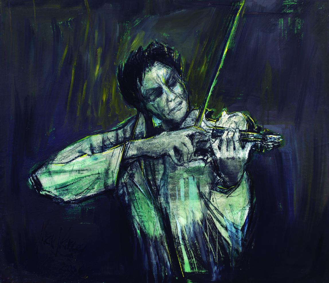 Músico 'Pizzicato' (2006) - Juan Francés Gandía - Juan Francés