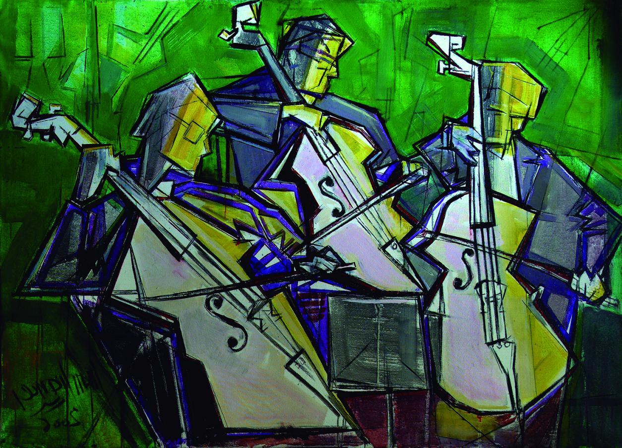 Trio musical (2006) - Juan Francés Gandía - Juan Francés