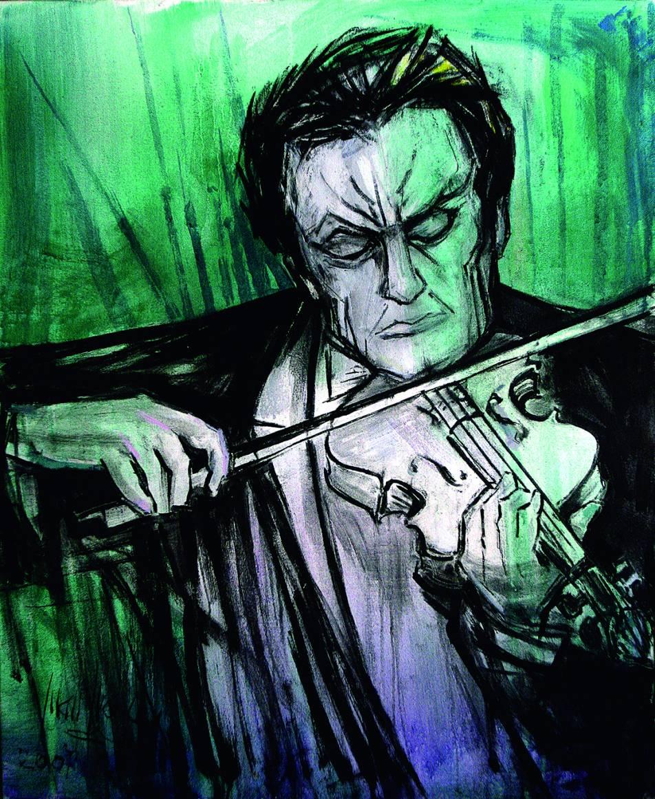Violinista (2007) - Juan Francés Gandía - Juan Francés