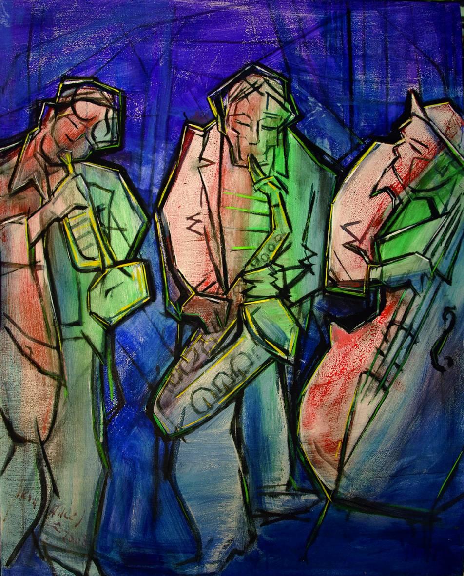 Músicos callejeros (2008) - Juan Francés Gandía - Juan Francés