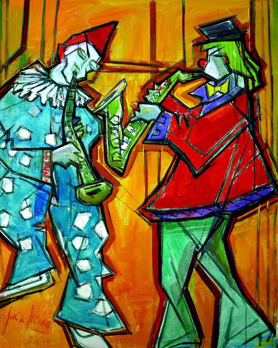 Músicos de circo (2008) - Juan Francés Gandía - Juan Francés