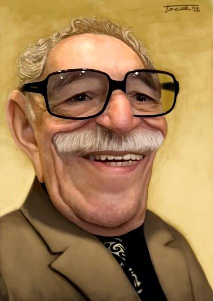 Gabriel Garci?a Ma?rquez - dibujo de Walter Toscano