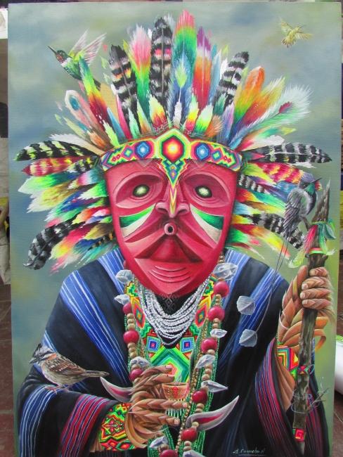 Taita indigena, medicina ancestral.
