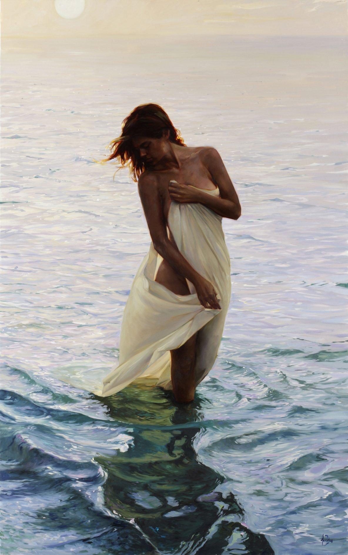Puesta de sol sobre el mar (2010) - Lluís Ribas