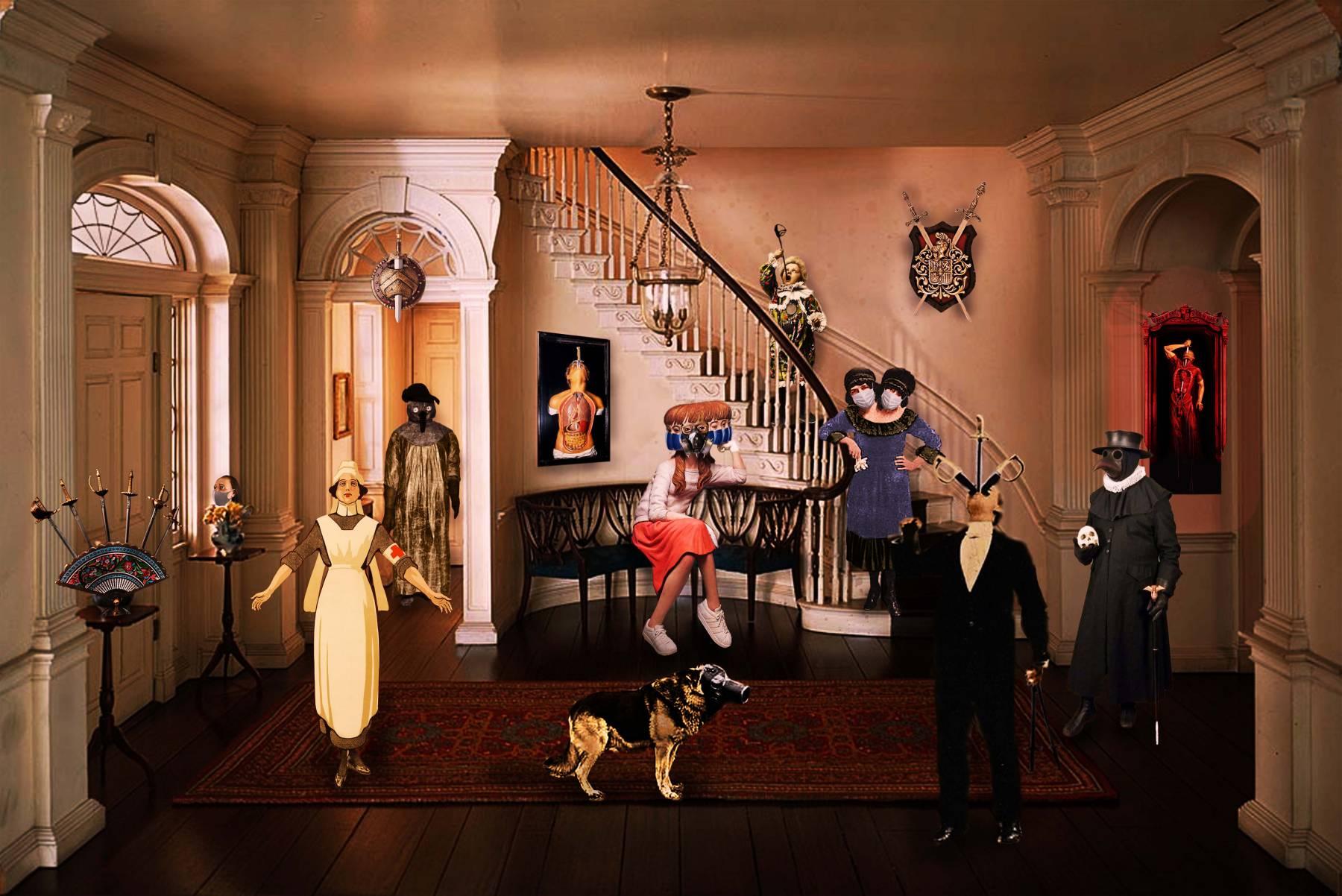 Cuarentena en casa de los tragasables (2020) - Carmen Michelena - Nonagraph