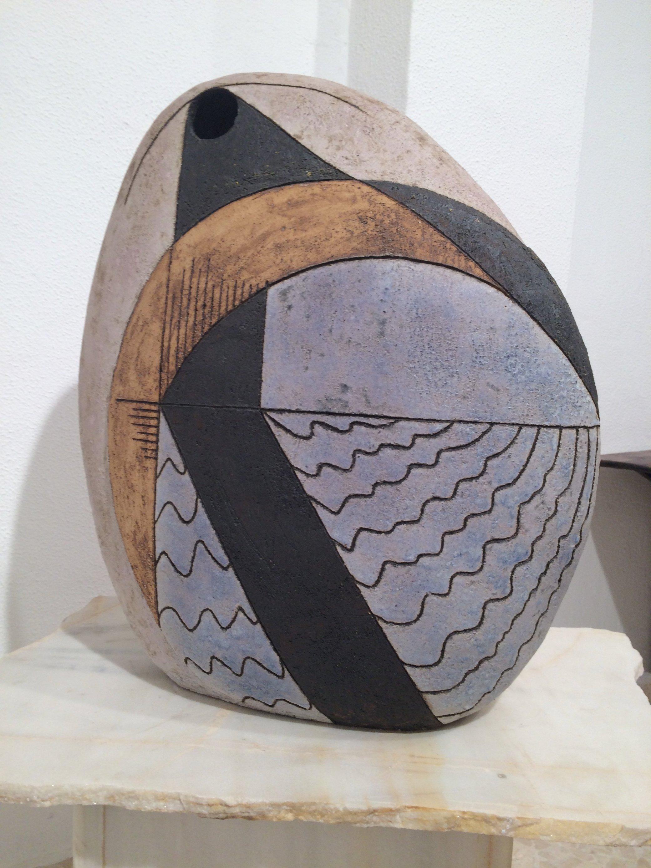 Escultura cerámica sin título (2001) - Agustín Morales Jiménez