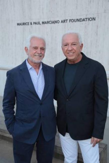 Maurice & Paul Marciano. Cortesía de la Marciano Art Foundation