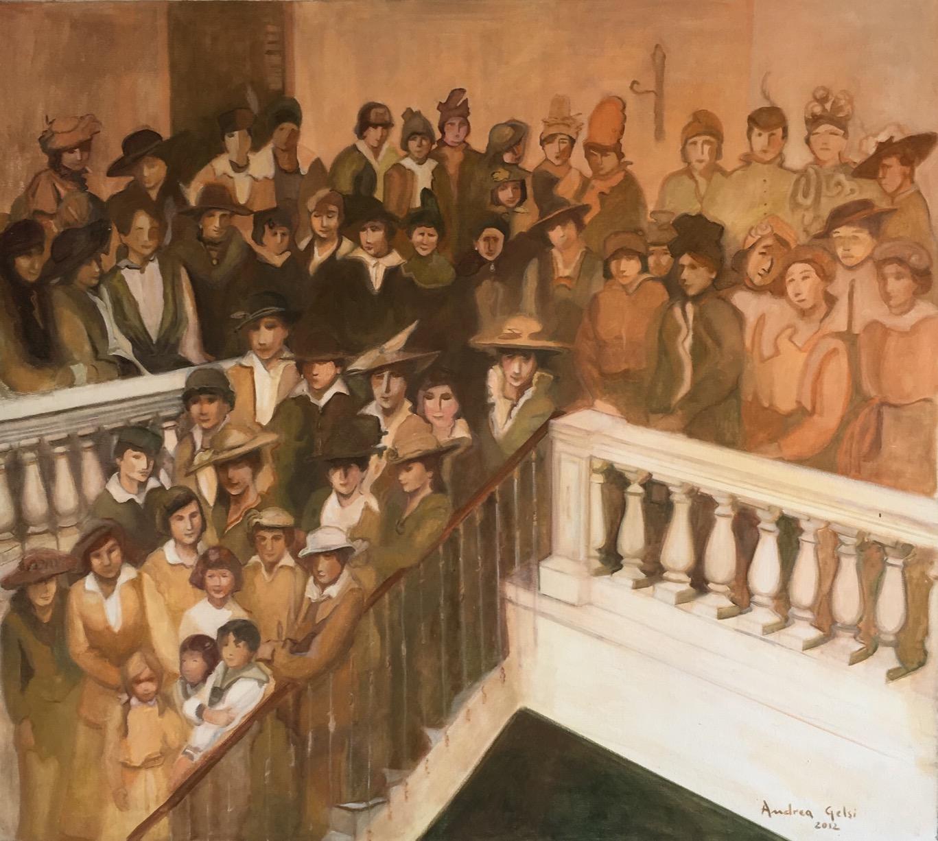Ellas se dirigen a votar (2013) - Andrea Gelsi