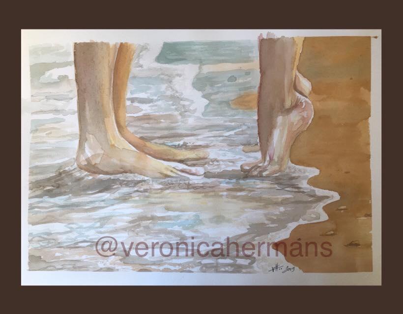 LOVE ON THE BEACH (2018) - Veronica Hermans