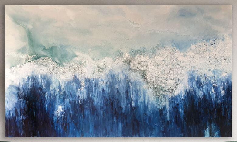 El agua es la fuerza motriz de toda la naturaleza (2020) - Sofía Eckholt Caffese