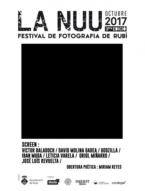 Invitación al festival de fotografía de Autor de la NUU 2017