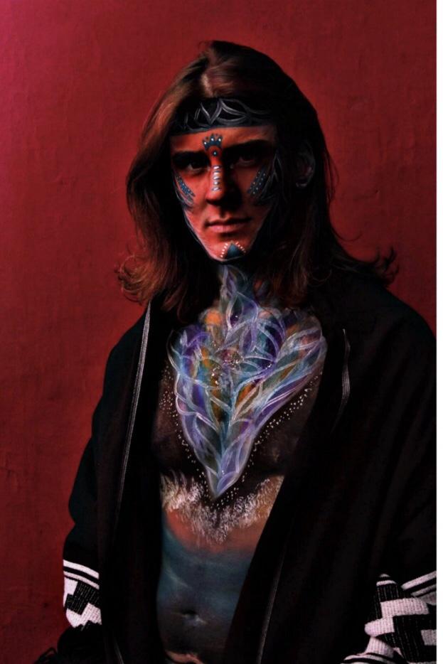 Indio pampa (2019) - Luciana Cavanagh - Pintora de Humanos