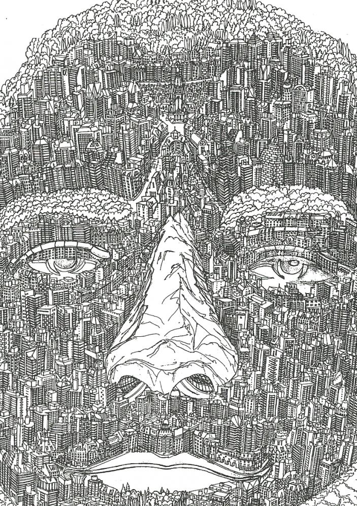 """""""Una mirada urbana"""" ( """"Autoretrato"""" ) (2011) - Jose Luis Solei - uninventordeciudades"""