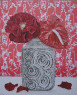 Eva Nordholt - Flores rojas, 2013