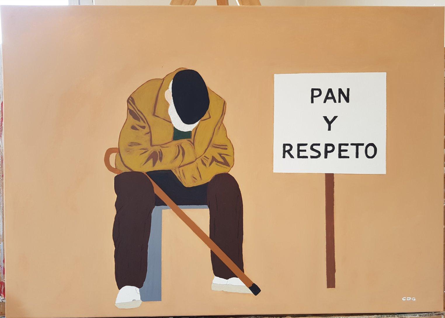 Pan y respeto (2020) - César Daniel Garnica García